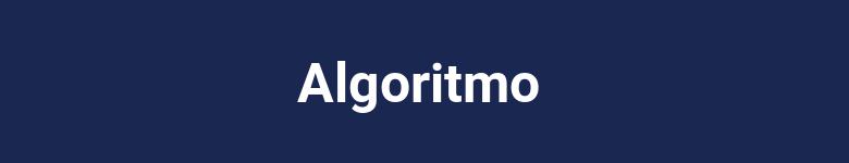 Comenzar algoritmo