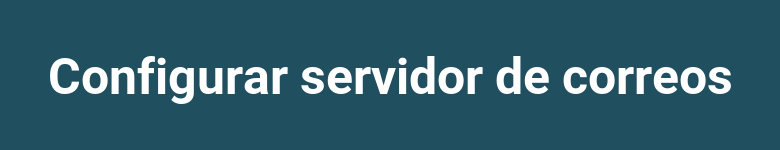 Configurar servidor de correos