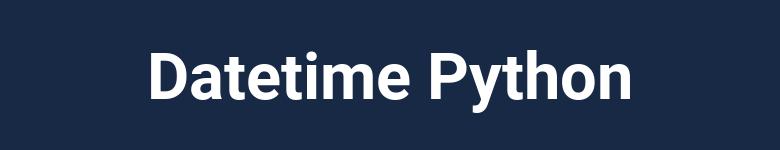 Manejo de fechas con Python