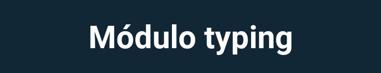 Anotaciones de tipo en Python pt2