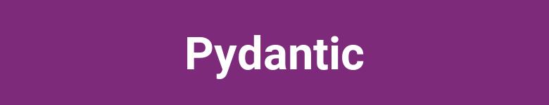 Introducción a Pydantic