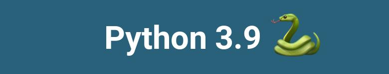 Novedades en Python 3.9