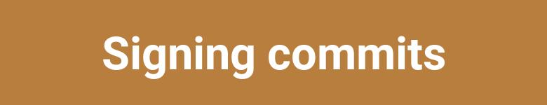 Firma de Commits con Git