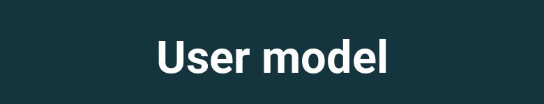 Modelo User