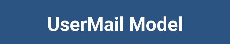 Modelo UserMail